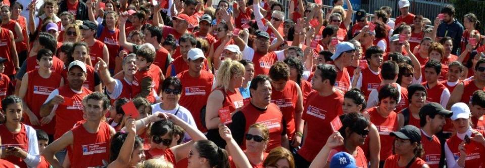 Lomas: más de 20 mil personas corrieron contra la violencia de género